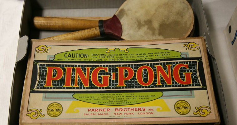 Where Did Ping Pong Originate?